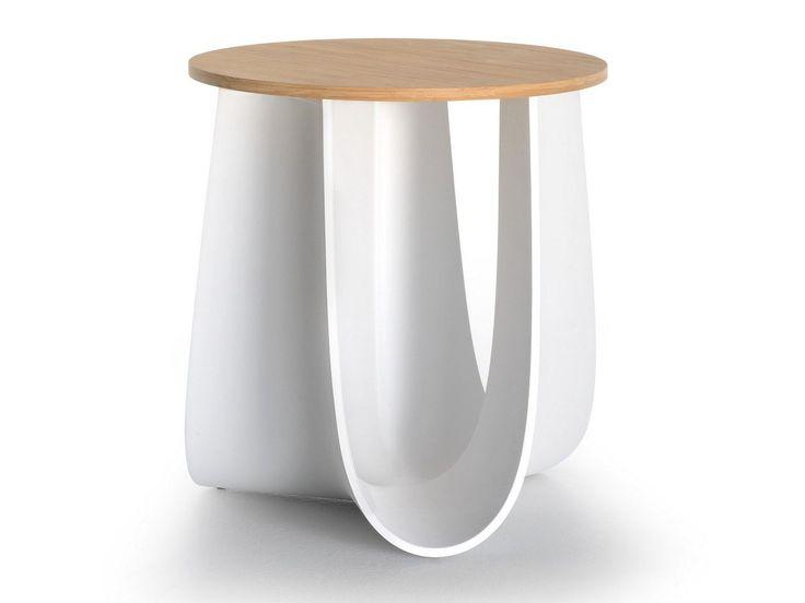 Hocker / Couchtisch Aus Polyurethan SAG By MDF Italia Design Nendo
