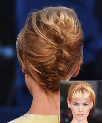 These celeb looks prove sometimes less (hair) is more when it comes to creating a chic short hair updo