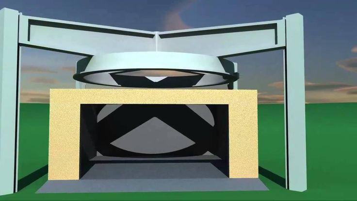 Big 3D printer consepts - house and garage