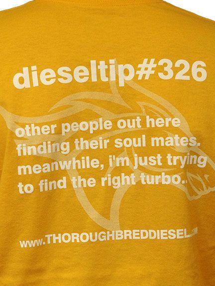 Thoroughbred Diesel dieseltips DieselTip 326 T-Shirt