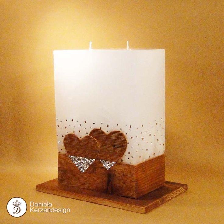 23 best Hochzeitskerzen images on Pinterest | Candle sticks, Candles ...
