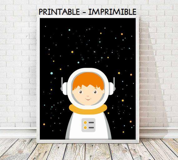 lamina astronauta infantil,cuadro astronauta,laminas espacio,laminas infantiles,laminas imprimibles,cuadro espacio,5 TAMAÑOS INCLUIDOS