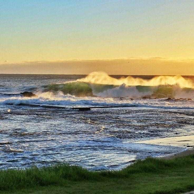 Werri Beach Gerringong big swell!