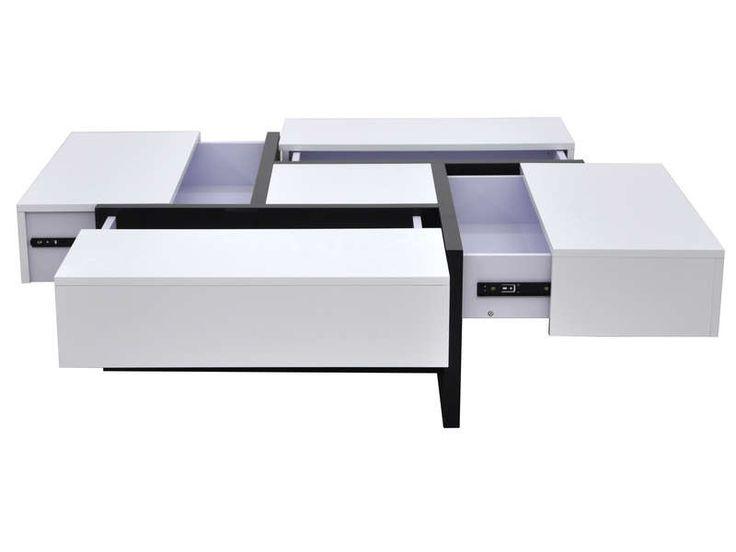 17 meilleures id es propos de table basse pas cher sur pinterest table de - Table basse design pas cher blanc ...