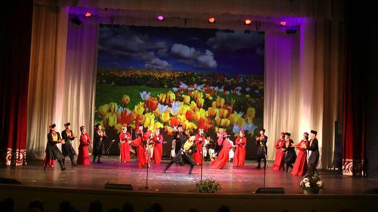 Калмыкский народный танец Чичердык  исп  анс  Тюльпан