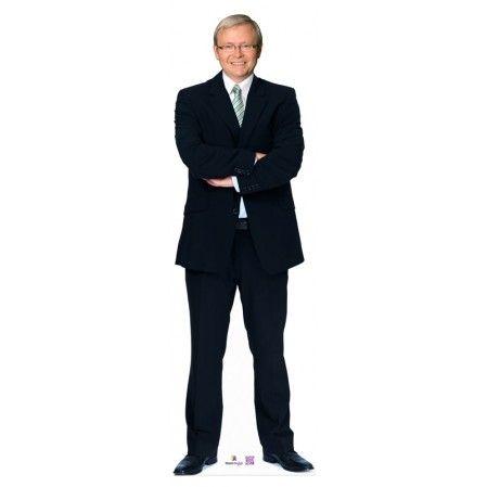 Kevin Rudd Cardboard Cutout 905  Height: 179cms