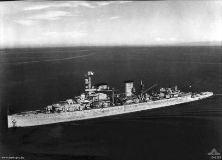 Dutch cruiser Java