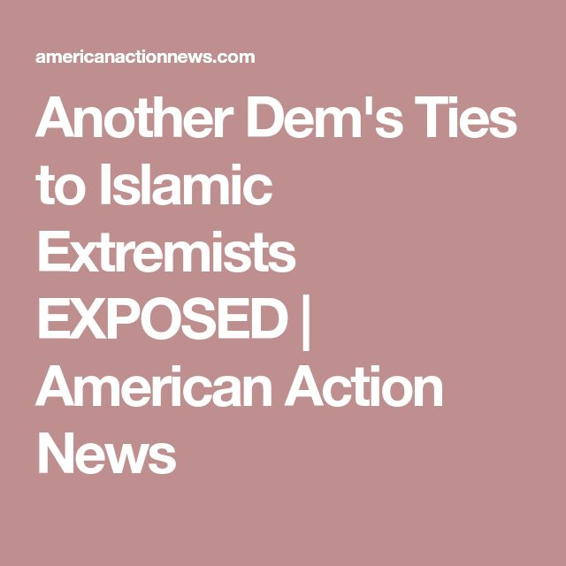 Another Dem's Ties to Islamic Extremists EXPOSED | American Action News
