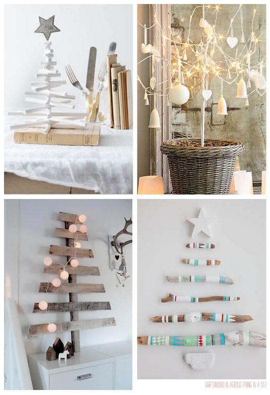 Las 25 mejores ideas sobre decoraciones para rboles de - Arbol de navidad diferente ...