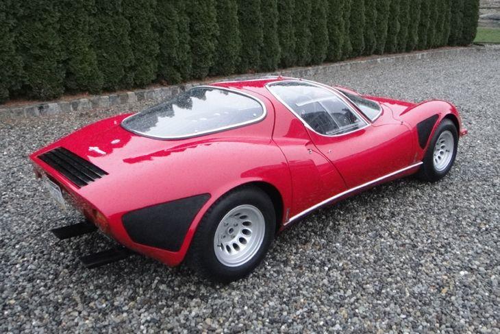 1968 Alfa Romeo Tipo 33 Stradale Regularly voted the best looking motor car in history #alfa #alfaromeo #italiandesign
