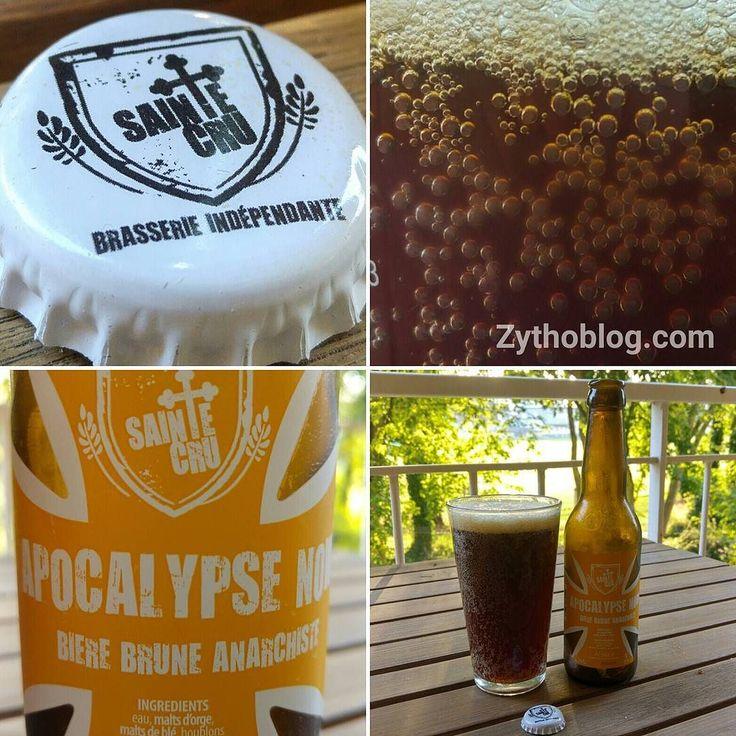 Dégustation de la bière brune d'#Alsace Apocalypse Now de brasserie Sainte Cru #Colmar ............................................................................. #BeerTime #ZythoTaste #Beer #Bier #Bière #Øl #Olut #Olout #Öl #Birre #Birra #Cerveza #Pivo #Cerveja #Пиво #ビール #Bīru #Bia  #beercaps #igbeer #beersommelier #beerstagram #loversbeer #instapic #nofilter