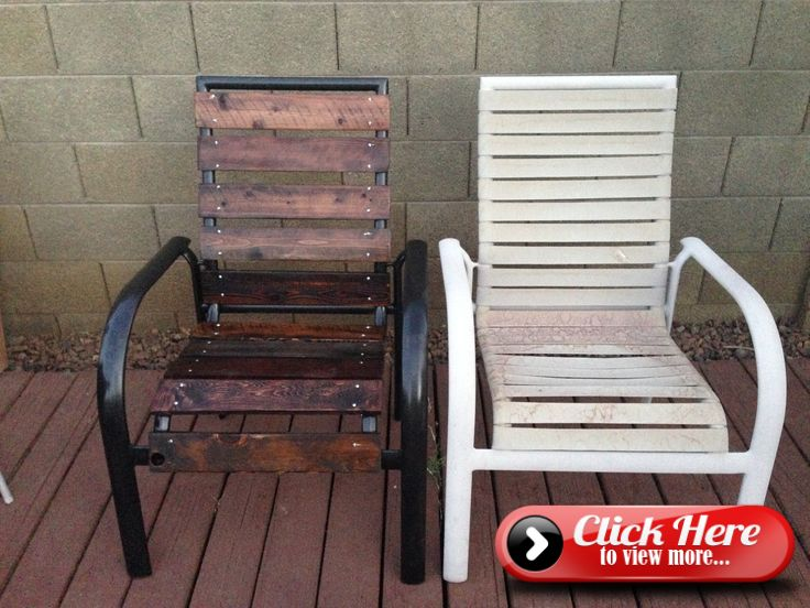 Patio Furniture Upcycle Nidify Diy With Images Patio
