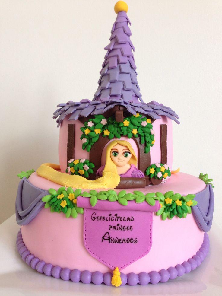 Rapunzel cake by Studio Roos
