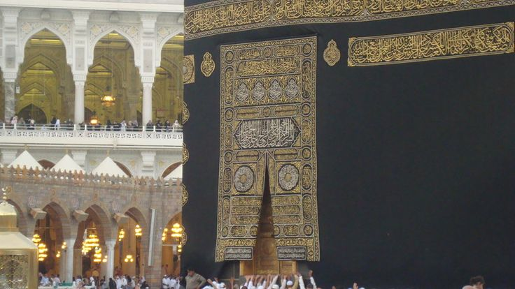 The door of the kaba by Haleema-A