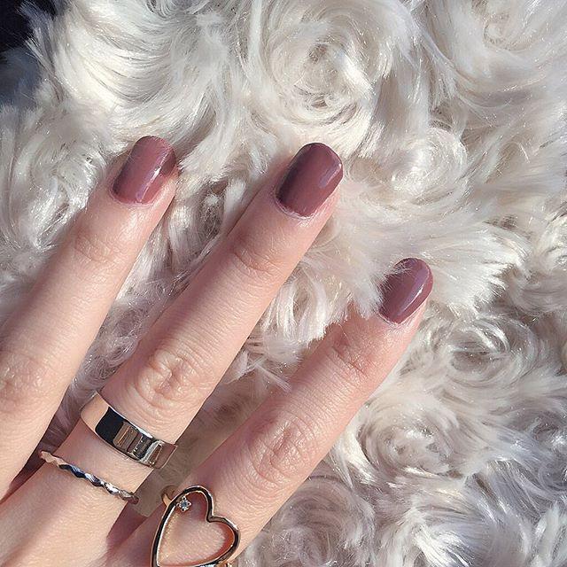 太陽ぽかぽか〜さむいけど🐇 . #nail#nailpolish#selfnail#pink#simple#autumn#winter#color#ring#heartring#silverring#favorite#instagood#instadiary#instalike#l4l#f4f#fff#ネイル#ネイルポリッシュ#セルフネイル#シンプル#ピンク#くすみピンク#リング#ハートリング#シルバーリング#指輪