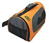 Orange, Light Weight, Soft-Sided Airline-Approved Pet Carrier, Large (18'' x 11'' x 10'')