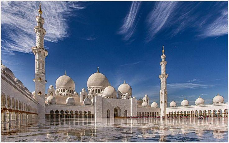 Sheikh Zayed Grand Mosque Wallpaper | sheikh zayed grand mosque wallpaper