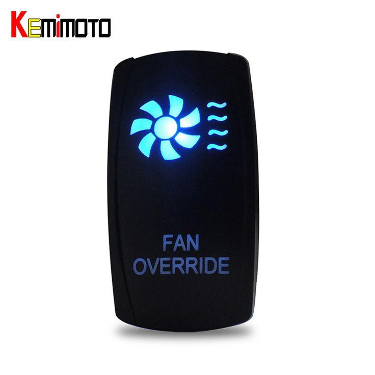 Kemimoto用ブレーキパッドポラリスレンジャー900 800 rzr 4 1000 900用can amブルーファンledロッカースイッチutv照らさウインチでアウトスイッチ
