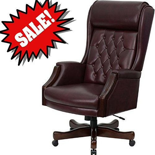Awesome Burgundy Desk Chair Dark Red Leather Upholstery Rolling Machost Co Dining Chair Design Ideas Machostcouk