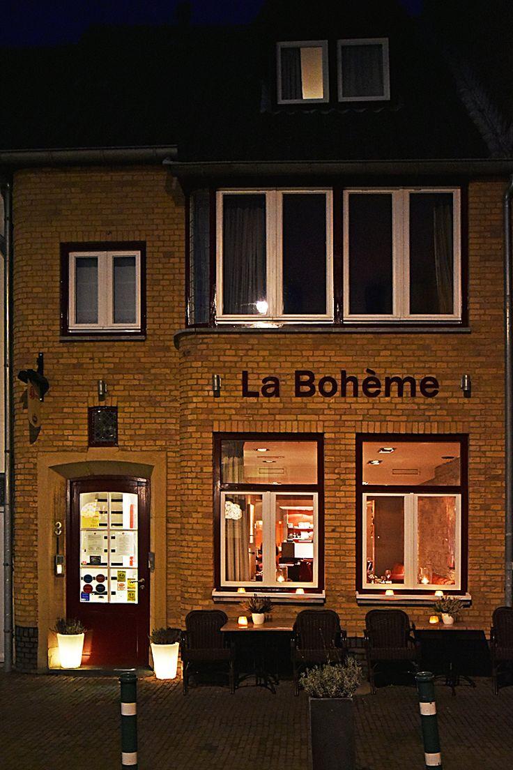 Voor een culinaire ervaring, restaurant La Boheme Maastricht www.restaurantlaboheme.nl
