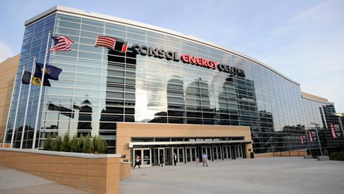 Consol Energy Center  Pittsburgh, PA  home of Pittsburgh Penguins