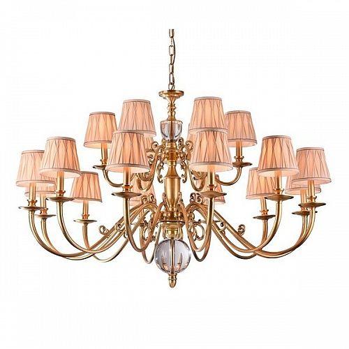 Люстра NEWPORT 31018/C Antique brass - купить по лучшим ценам в интернет-магазине Декор и Свет