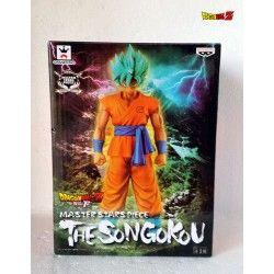 Figura Dragón Ball Goku Super Saiyan Dios Super Saiyan.