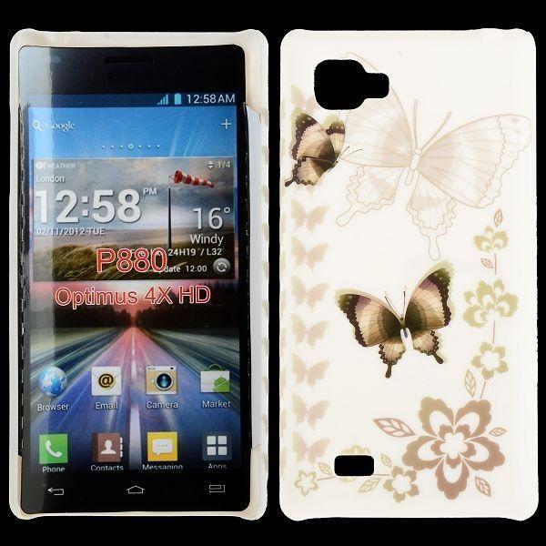 Valentine (Tummat Perhoset) LG Optimus 4X HD Suojakuori