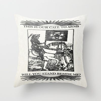 Will you stand beside me? - Version 2 - The Death Throw Pillow for Bedroom Decoration Ideas - $20.00