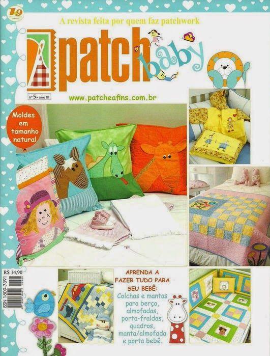 Revista de patchwork para bebe gratis