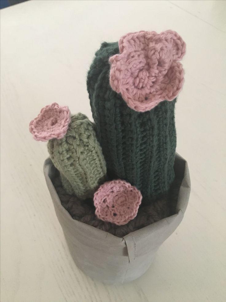 Hæklet kaktus Crochet cactus🌵