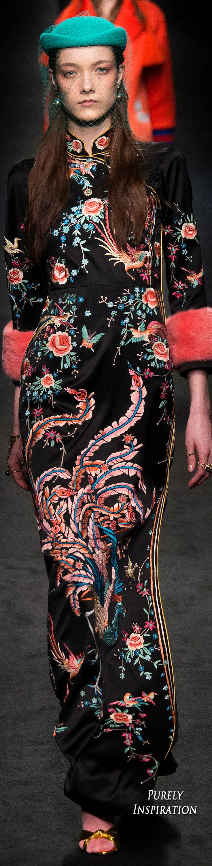 Gucci FW2016 Women's Fashion RTW | Purely Inspiration