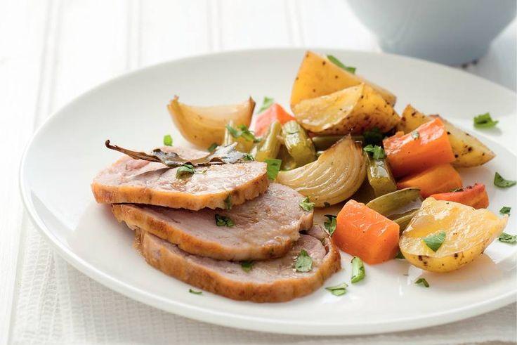 Kiprollade met groenten uit de oven - Recept - Allerhande