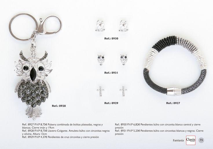 venta online: http://www.oasisventadirecta.com Catálogo Joyería de Fantasía. Oasis Venta Directa. Colección 2015-2016