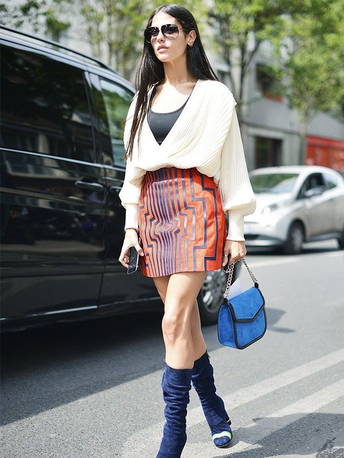 9 Signs the 1980s Are the Next Big Trend in Street Style via @WhoWhatWearUK