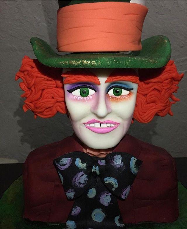 Sombrerero loco de Alicia en el país de las maravillas por SukiCakes  Www.facebook.com/SukiCakesMty
