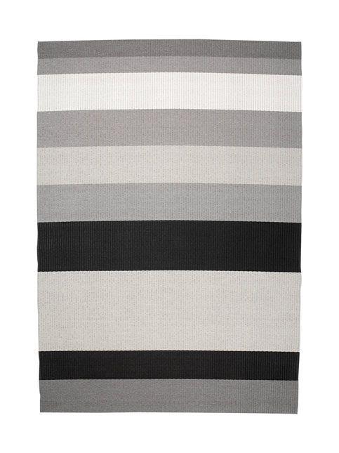 Harmaa/vaaleanharmaa Woodnotes Avenue-matto 200 x 300 cm | 200 x 300 cm | Koti | Stockmann.com