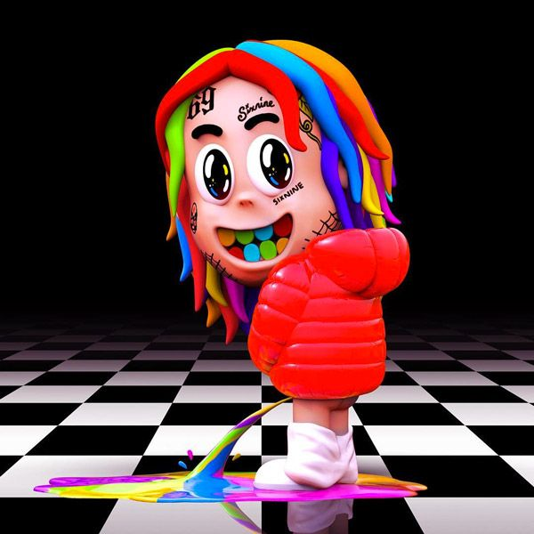 6ix9ine Announces Debut Album Dummy Boy Primetweets Rap Album Covers Music Album Cover Album Covers