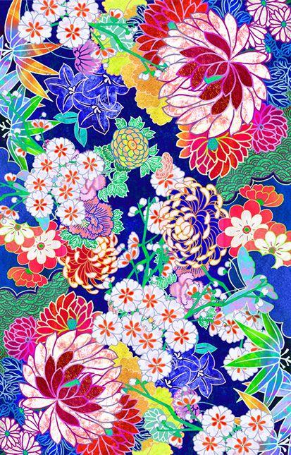 Oriental flowers | iPhone 6s - Snap