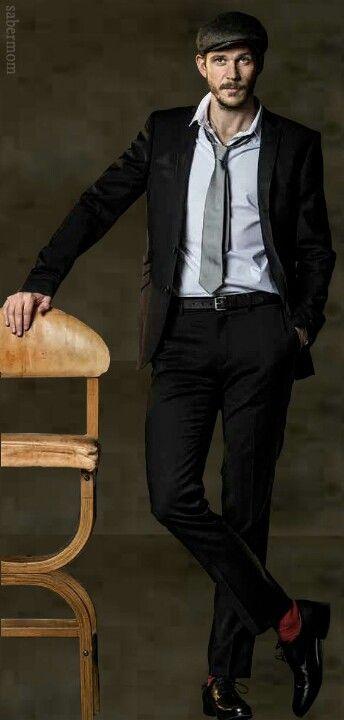 Gustaf Skarsgard - yep, long legs run in the family!  SIGH