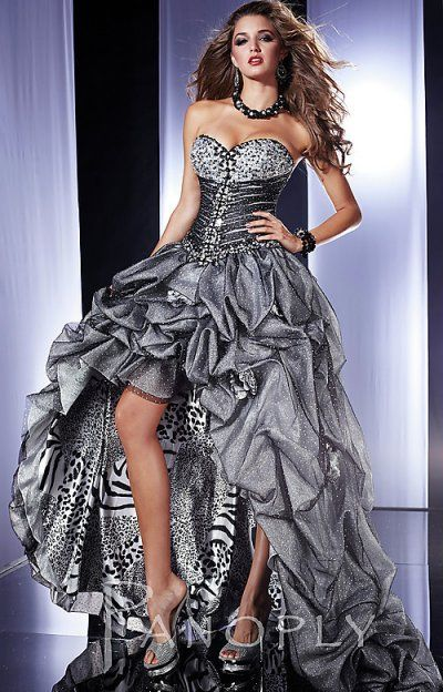 1000  ideas about Animal Print Prom Dresses on Pinterest  Pretty ...