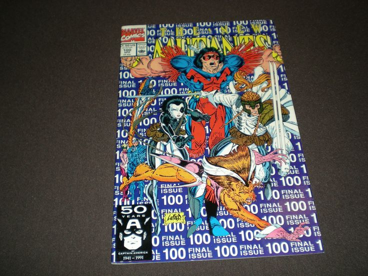 New Mutants 100, (1991), 1st App. X-Force, Marvel Comics, Final Issue by HeroesRealm on Etsy