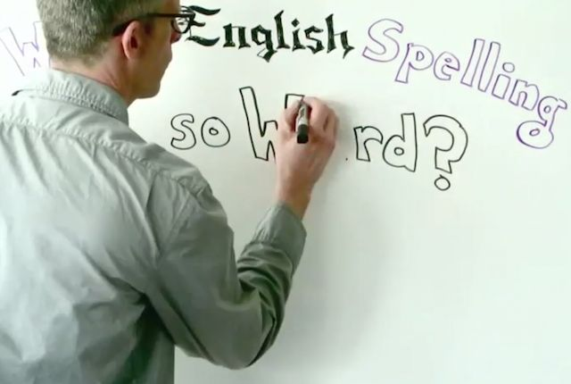 English spelling might seem crazy and unfair, but there are reasons for how it got that way