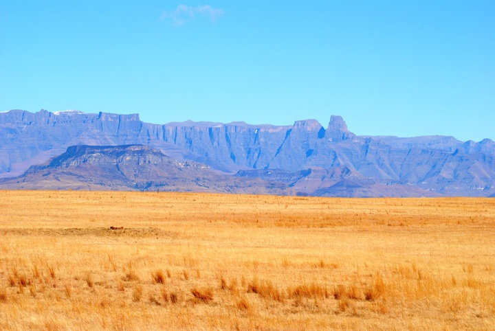 Landscape enroute to the Golden Gate in the Free State