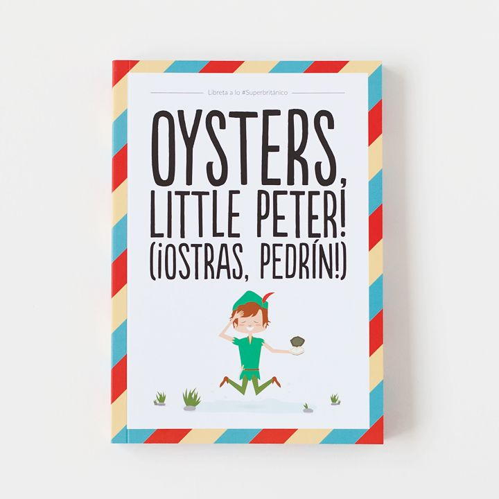 Libreta – Oysters, little Peter!
