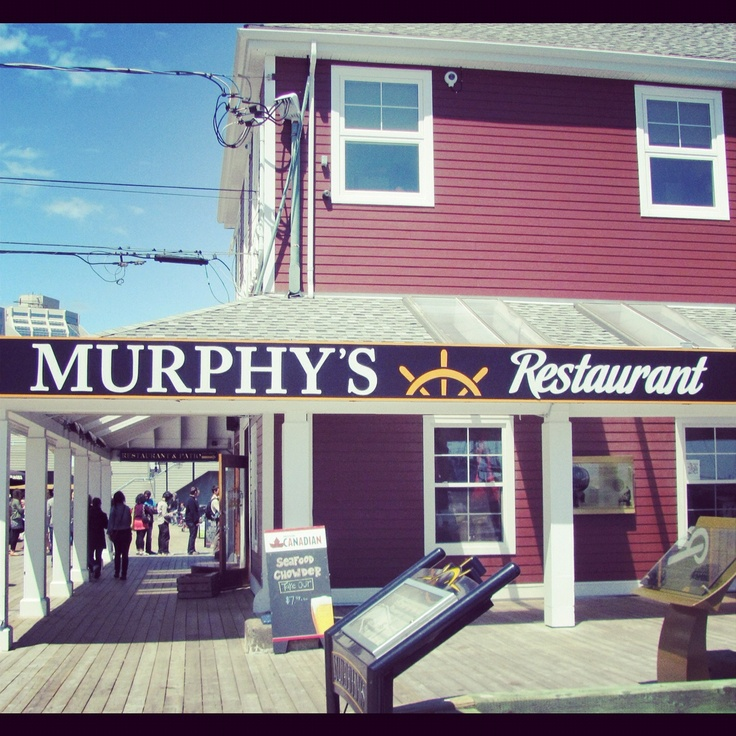 Murphy's On The Water in Halifax, Nova Scotia