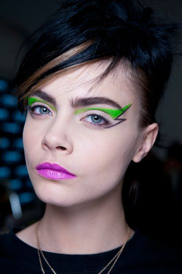 100 Best Punk Beauty Looks On The Autumn Winter 2013 Catwalks | Grazia Beauty