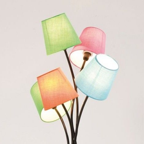 KARE Prague - Floor Lamp Cinque Colore