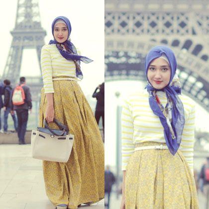Hijab Style: Dian Pelangi