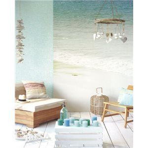 Murales y Papeles Pintados de la Colección Ibiza de Eijffinger- Murales de Pared de Playas 330284